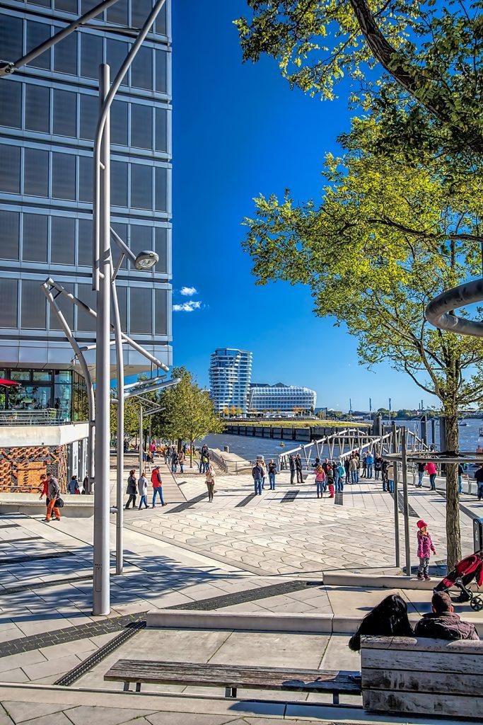 Besonders im Sommer super geeignet um Chillen und Spazieren: Die Hafencity