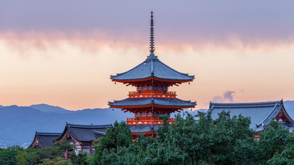Eine der sehenswürdigsten Städte auf der Erde: Kyoto