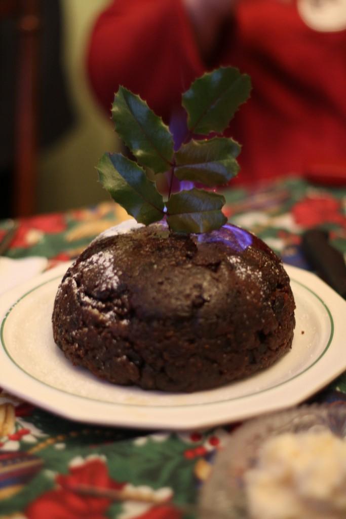 Britischer wird es kaum: traditioneller Christmas Pudding