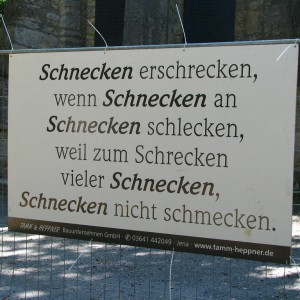 Mir reicht mein Deutsch