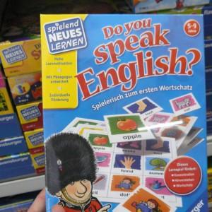 Ich spreche schon englisch...