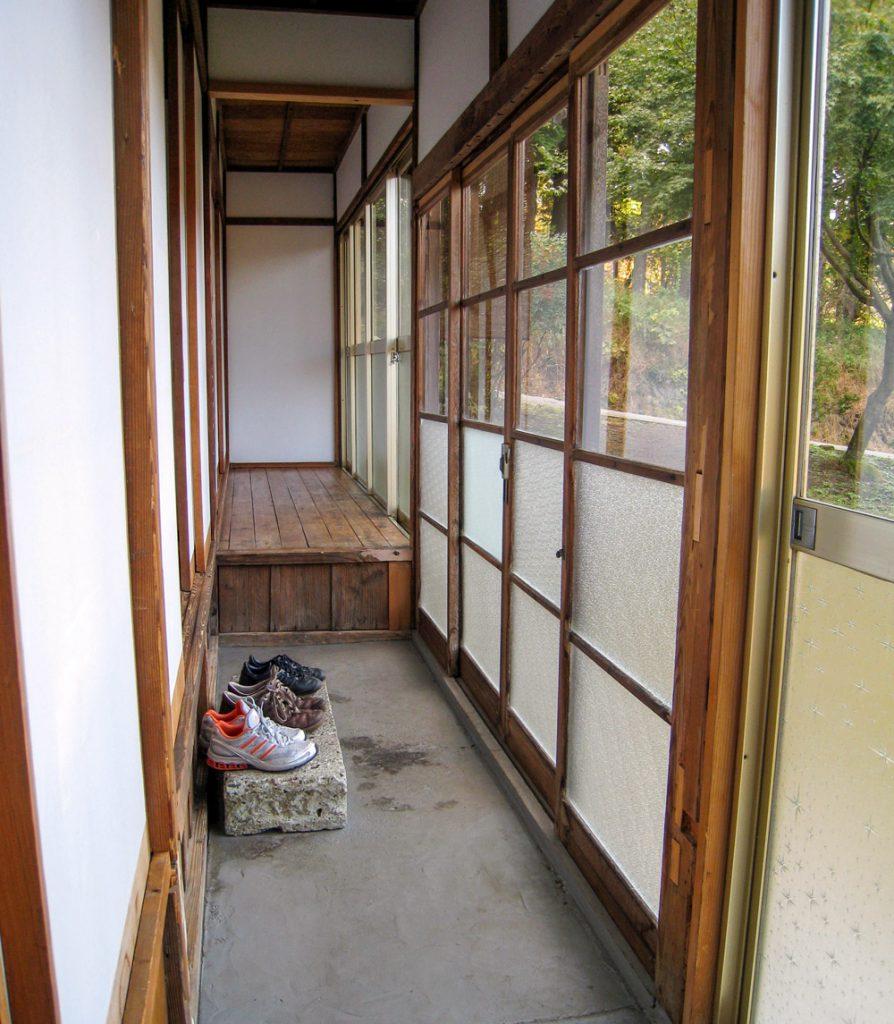 Genkan japanischer Eingang