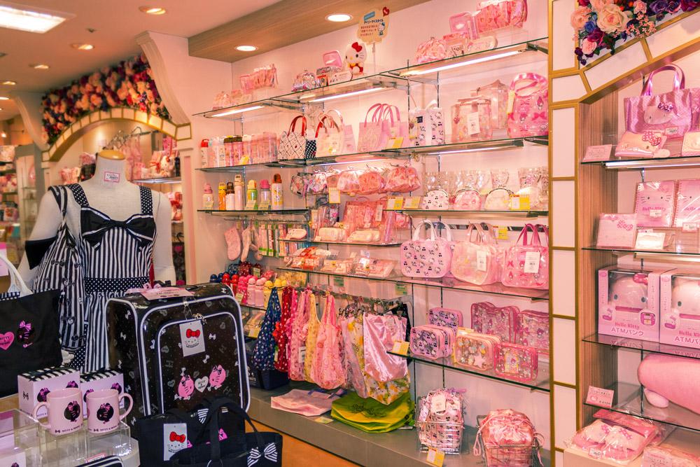 Hello Kitty Geschenkeladen
