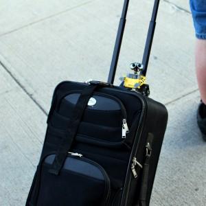 Kleiner Koffer oder Reisetasche
