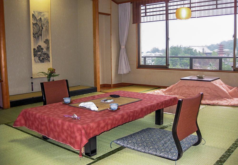 Ryokan Zimmer in Miyajima