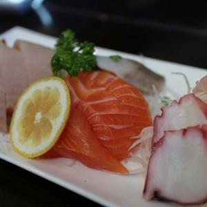 Frische Sashimi-Platte