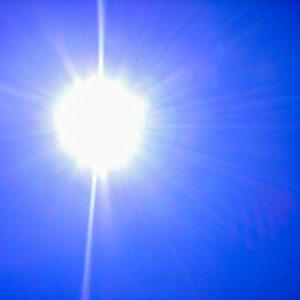 Sonne mit leichter Brise