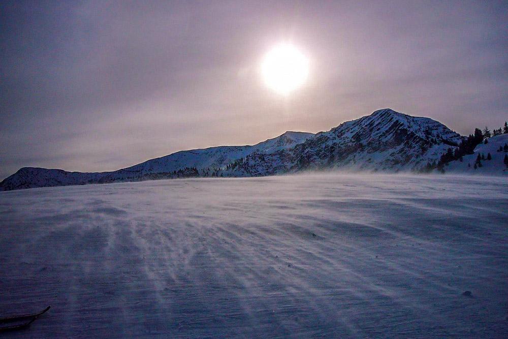 Paradies für alle Wintersportler: Pulverschnee in Sudelfeld