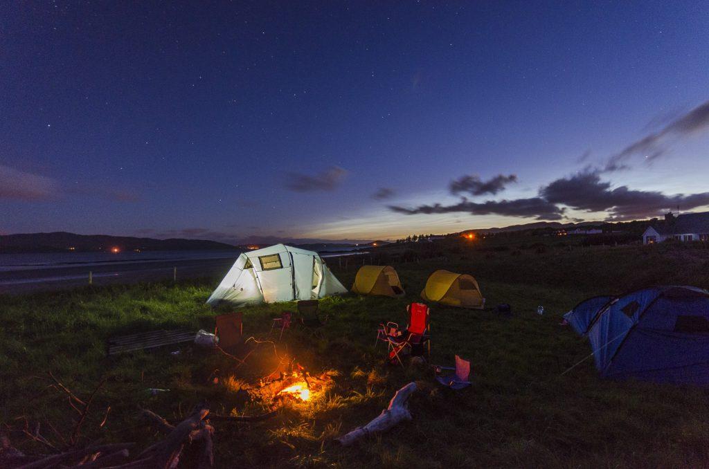 Der Zauber der Nacht: Es gibt kaum etwas schöneres, als am Ende eines anstrengenden Wanderausflugs unterm Sternenhimmel einzuschlafen